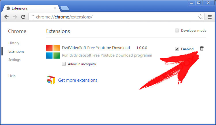 extensions-chrome Veletonjectof.pro